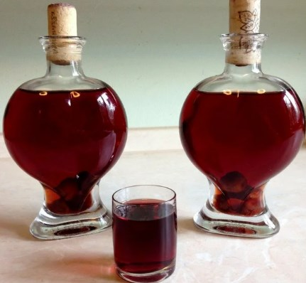 Настойка из малины на спирту